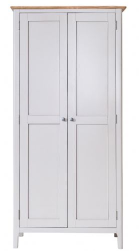 Scandia Grey Full Hanging Wardrobe